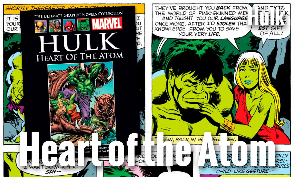Hulk: Heart of the Atom. A Tragic Love Story image