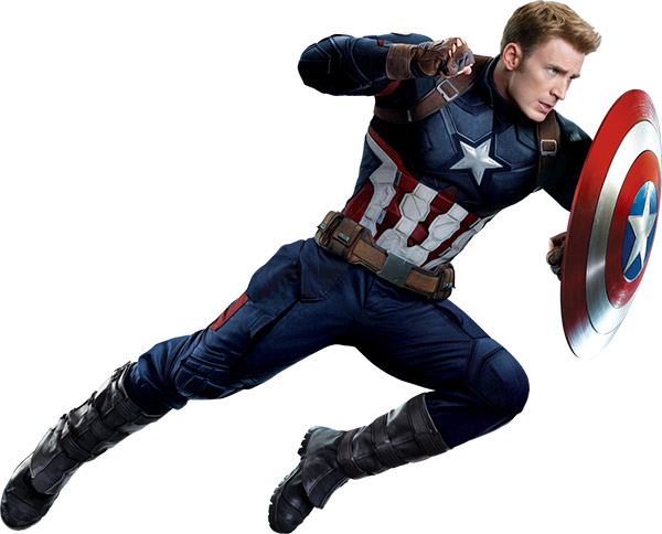 Captain America (actor Chris Evans)