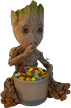 Baby Groot eating candy