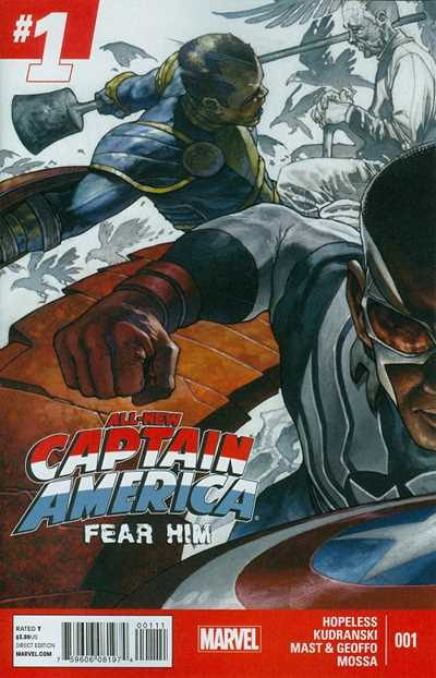 All-New Captain America: Fear Him #1