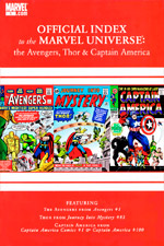 Avengers, Thor and Captain America: Official Index to the Marvel Universe #1