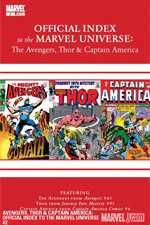 Avengers, Thor and Captain America: Official Index to the Marvel Universe #2