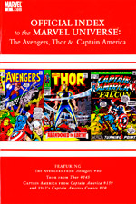 Avengers, Thor and Captain America: Official Index to the Marvel Universe #3