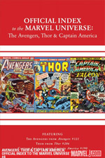Avengers, Thor and Captain America: Official Index to the Marvel Universe #4