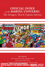 Avengers, Thor and Captain America: Official Index to the Marvel Universe #5