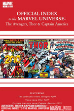 Avengers, Thor and Captain America: Official Index to the Marvel Universe #6