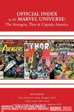 Avengers, Thor and Captain America: Official Index to the Marvel Universe #7