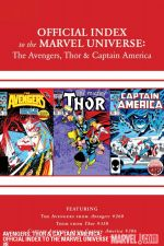 Avengers, Thor and Captain America: Official Index to the Marvel Universe #8