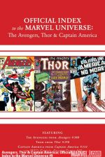 Avengers, Thor and Captain America: Official Index to the Marvel Universe #9