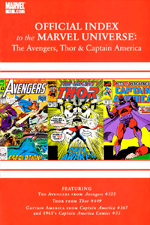 Avengers, Thor and Captain America: Official Index to the Marvel Universe #10