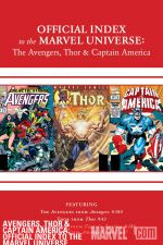 Avengers, Thor and Captain America: Official Index to the Marvel Universe #12