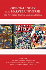 Avengers, Thor and Captain America: Official Index to the Marvel Universe #13