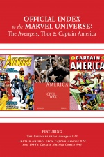 Avengers, Thor and Captain America: Official Index to the Marvel Universe #14