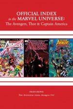 Avengers, Thor and Captain America: Official Index to the Marvel Universe #15