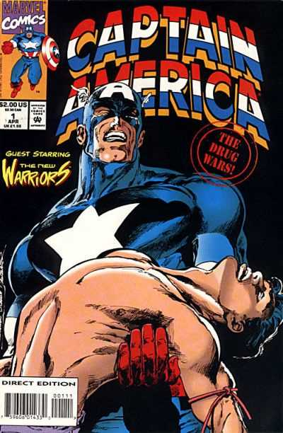 Captain America: Drug War #1