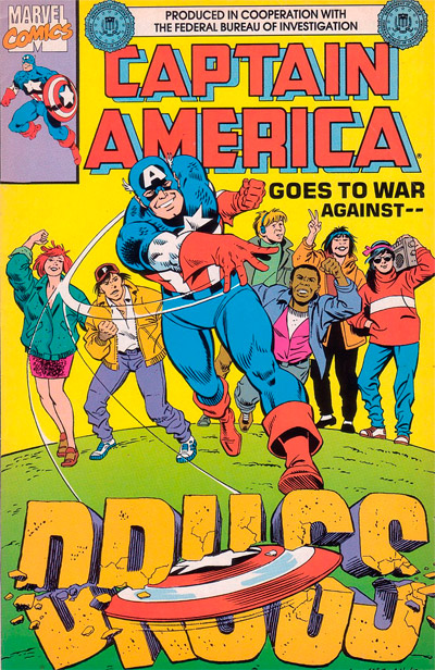 Captain America Goes to War against Drugs #1