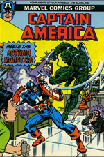 Captain America Meets the Asthma Monster #1