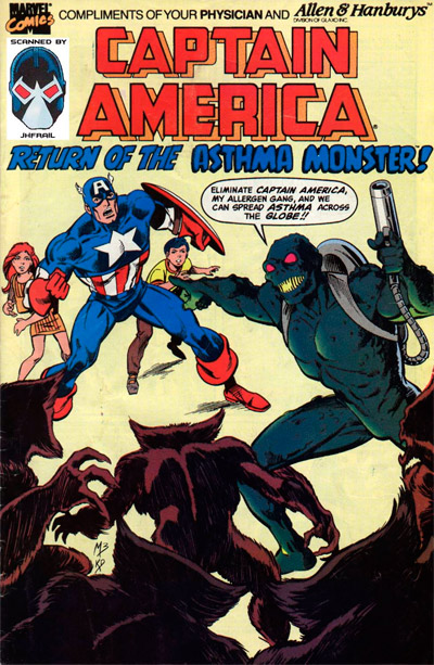 Captain America: Return of the Asthma Monster #1