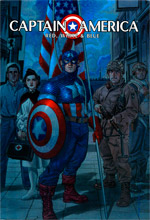 Captain America: Red, White and Blue #1