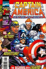 Captain America: Sentinel of Liberty #1