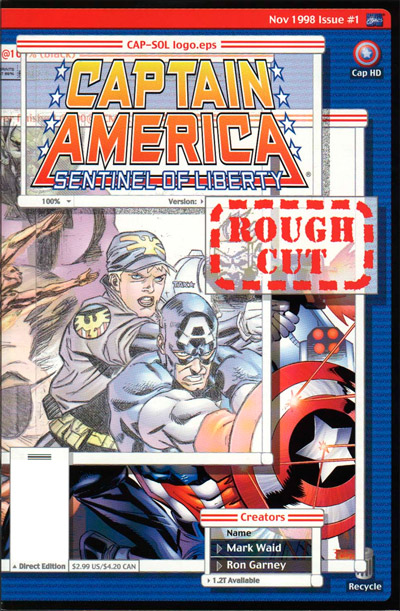 Captain America: Sentinel of Liberty Rough Cut #1