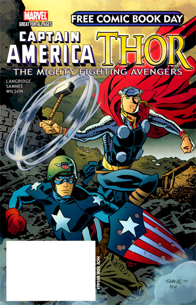 Free Comic Book Day 2011 Thor the Mighty Avenger #1