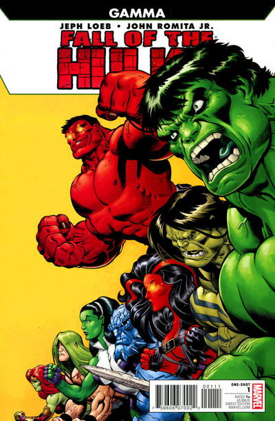 Fall of the Hulks: Gamma #1