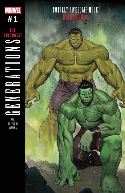 Generations: Banner Hulk and the Totally Awesome Hulk #1