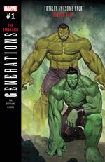 Generations: Banner Hulk and the Totally Awesome Hulk (2017 series)
