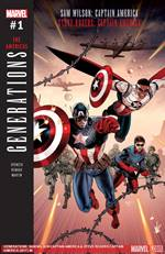 Generations: Sam Wilson Captain America and Steve Rogers Captain America #1