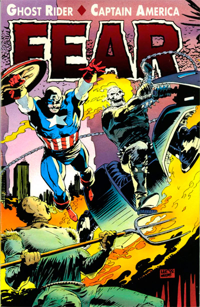 Ghost Rider/Captain America: Fear #1