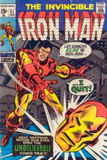 Invincible Iron Man #21