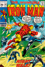 Invincible Iron Man #40