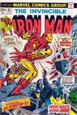 Invincible Iron Man #65