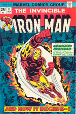 Invincible Iron Man #71