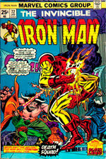 Invincible Iron Man #72