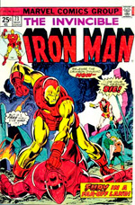 Invincible Iron Man #73