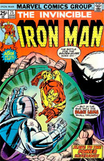 Invincible Iron Man #75