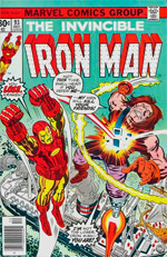 Invincible Iron Man #93