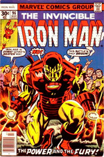 Invincible Iron Man #96