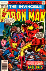 Invincible Iron Man #105