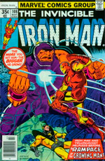Invincible Iron Man #108
