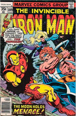 Invincible Iron Man #109
