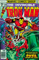 Invincible Iron Man #110