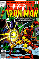 Invincible Iron Man #112