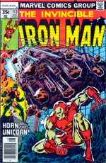 Invincible Iron Man #113
