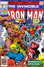 Invincible Iron Man #114