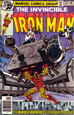 Invincible Iron Man #116