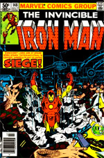 Invincible Iron Man #148