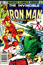 Invincible Iron Man #159
